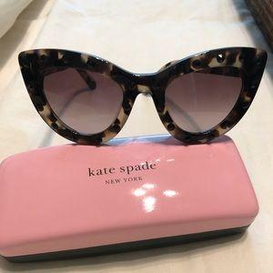 Kate Spade Luann Cat Eye Sunglasses